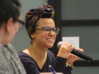 Yaritza Holguin, MPA student and congressional intern