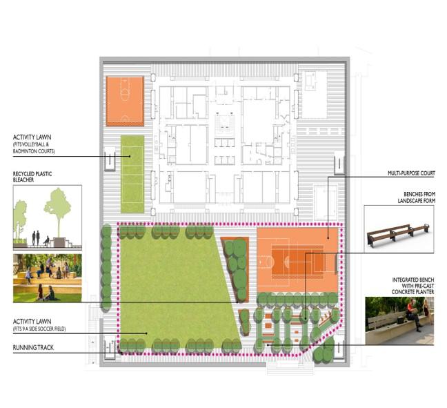 Marshak floorplan