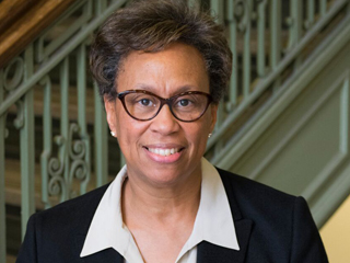 CCNY chemical engineer Rosemarie Wesson, the first female treasurer in AIChE history.