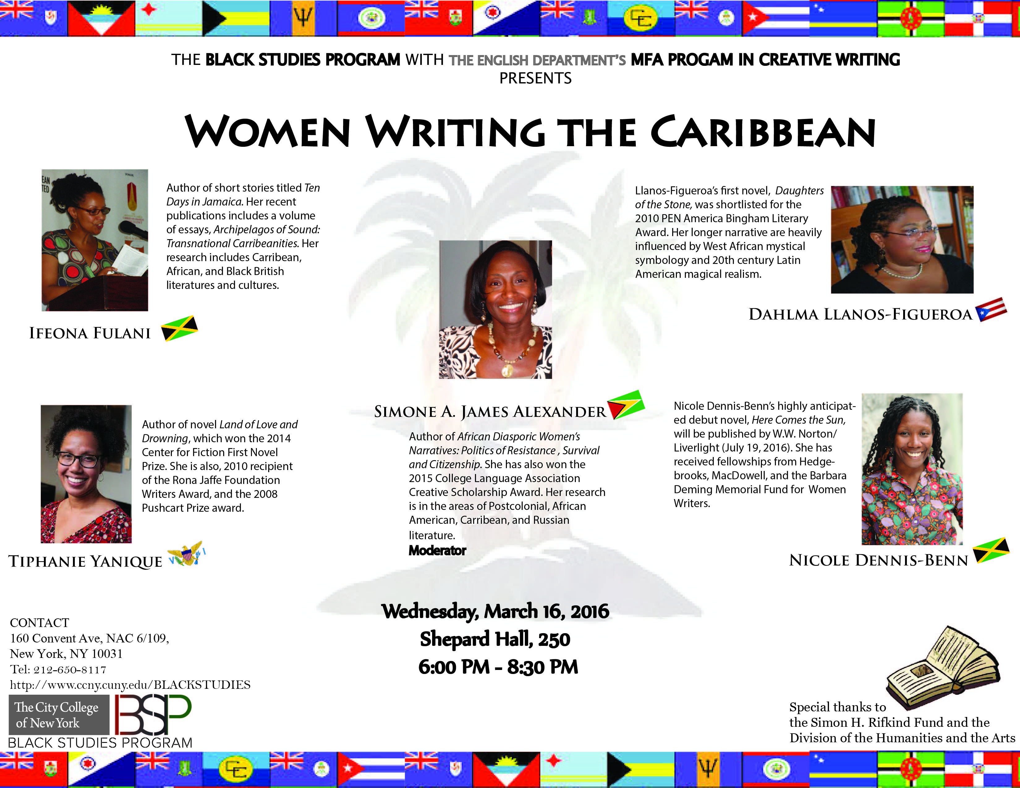 Women Writing the Caribbean