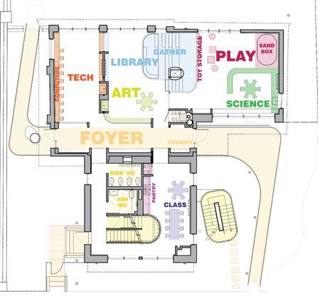 Schiff House floor plan