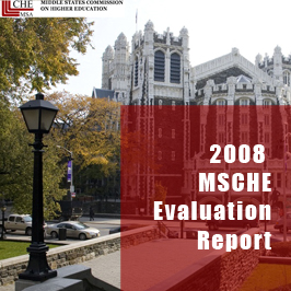 2008 MSCHE Evaluation Report