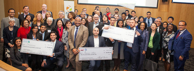 Zahn 2016 entrepreneurship competition winners at CCNY