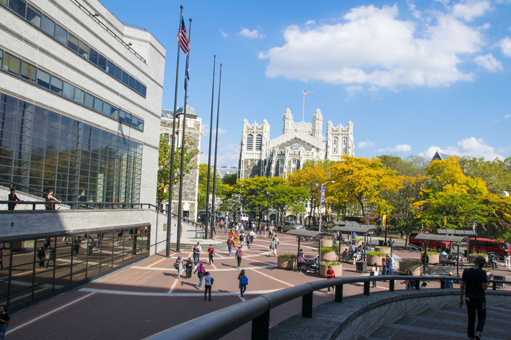 View of CCNY campus from the NAC