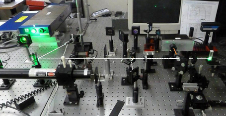 Resonance Raman technique developed by Robert Alfano's team at CCNY