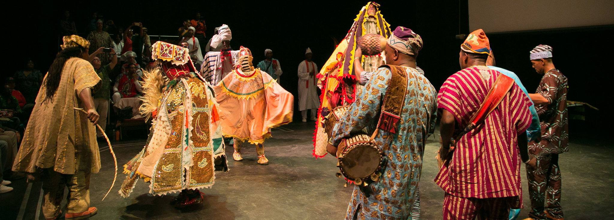 Celebrating the Ancestors: EGUNGUN in the Afro-Atlantic World! Traditional dance.