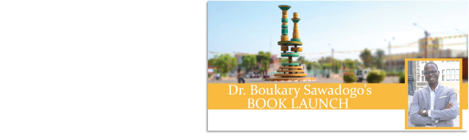 Dr. Boukary Sawadogo's Book Launch