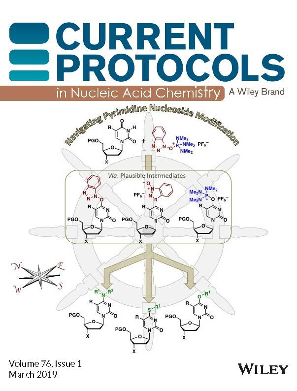 Current Protocols in Nucleic Acid Chemistry