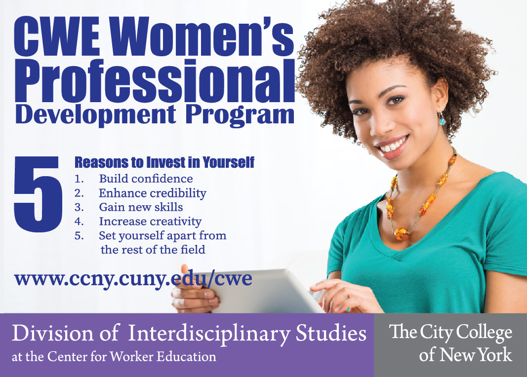 Women's Professional Development Program Front image