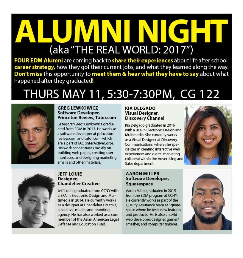 EDM Alumni Night