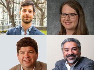 Four CCNY Faculty