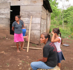CCNY engineers without borders beneficiaries in Nicaragua