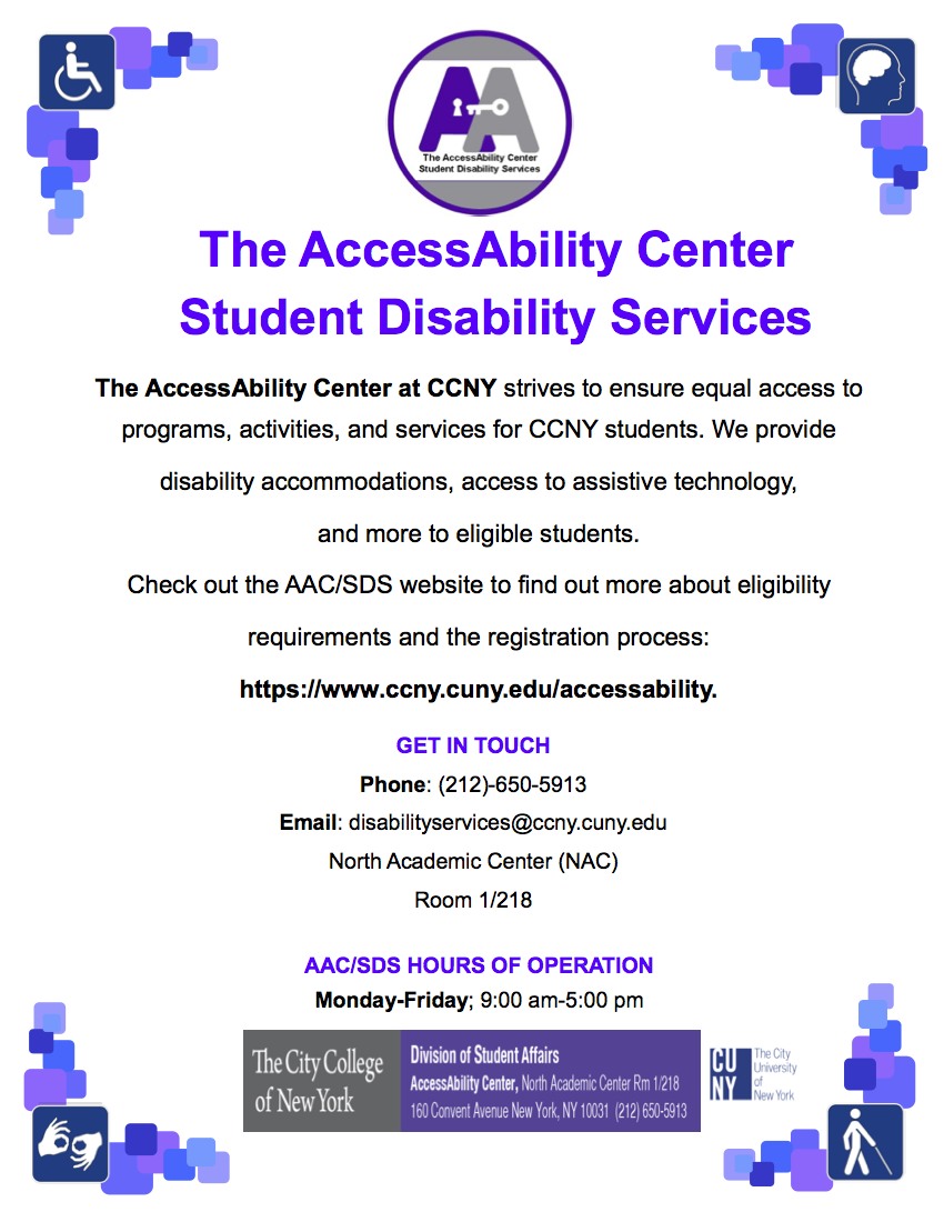 Accessability Office Information