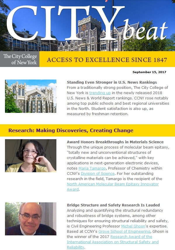 ccny city beat newsletter sample content 091517 jpg the city
