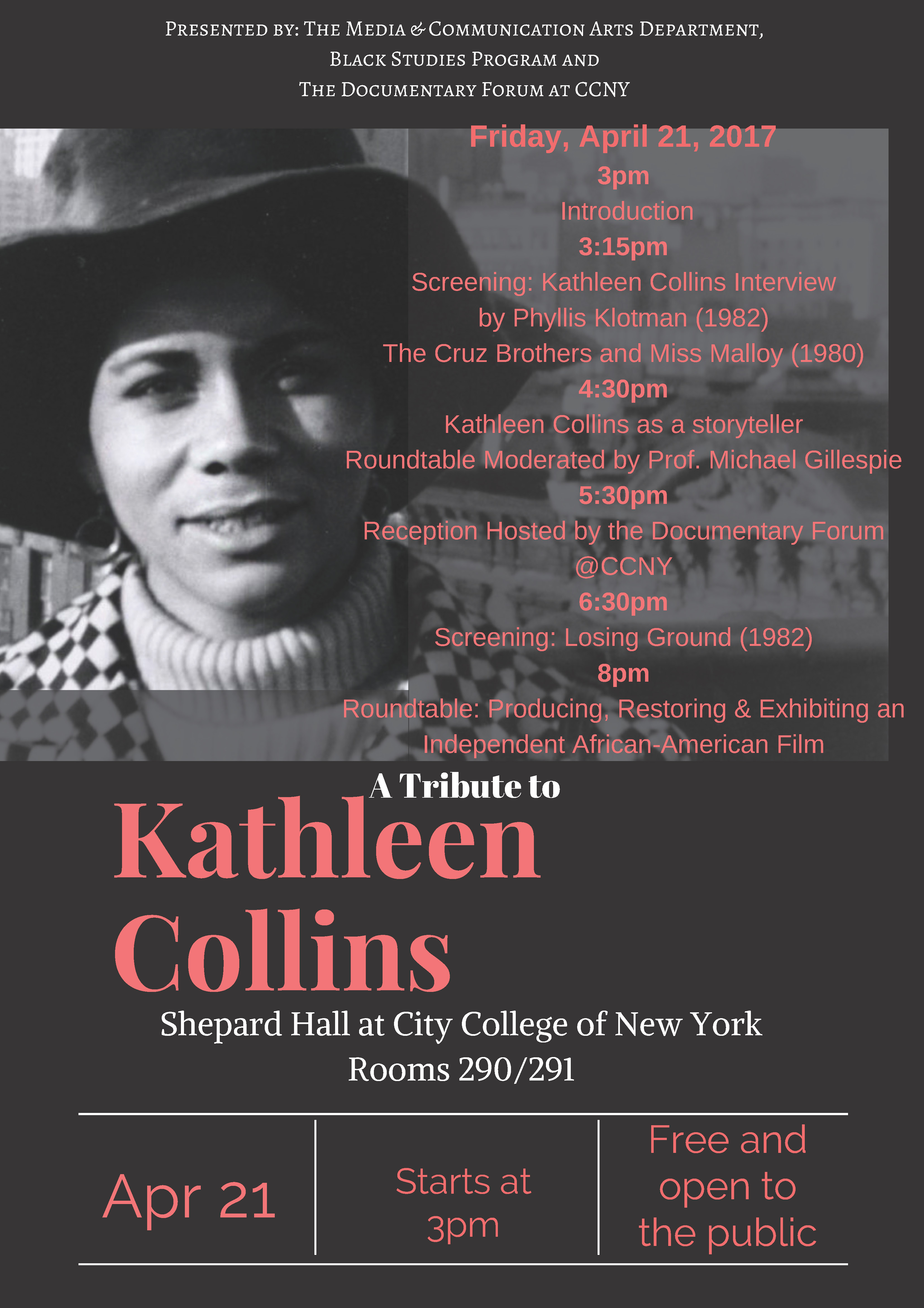 Tribute to Kathleen Collins