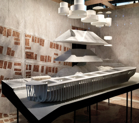 Architecture School Studio spitzer school of architecture hosts landing studio exhibit | the