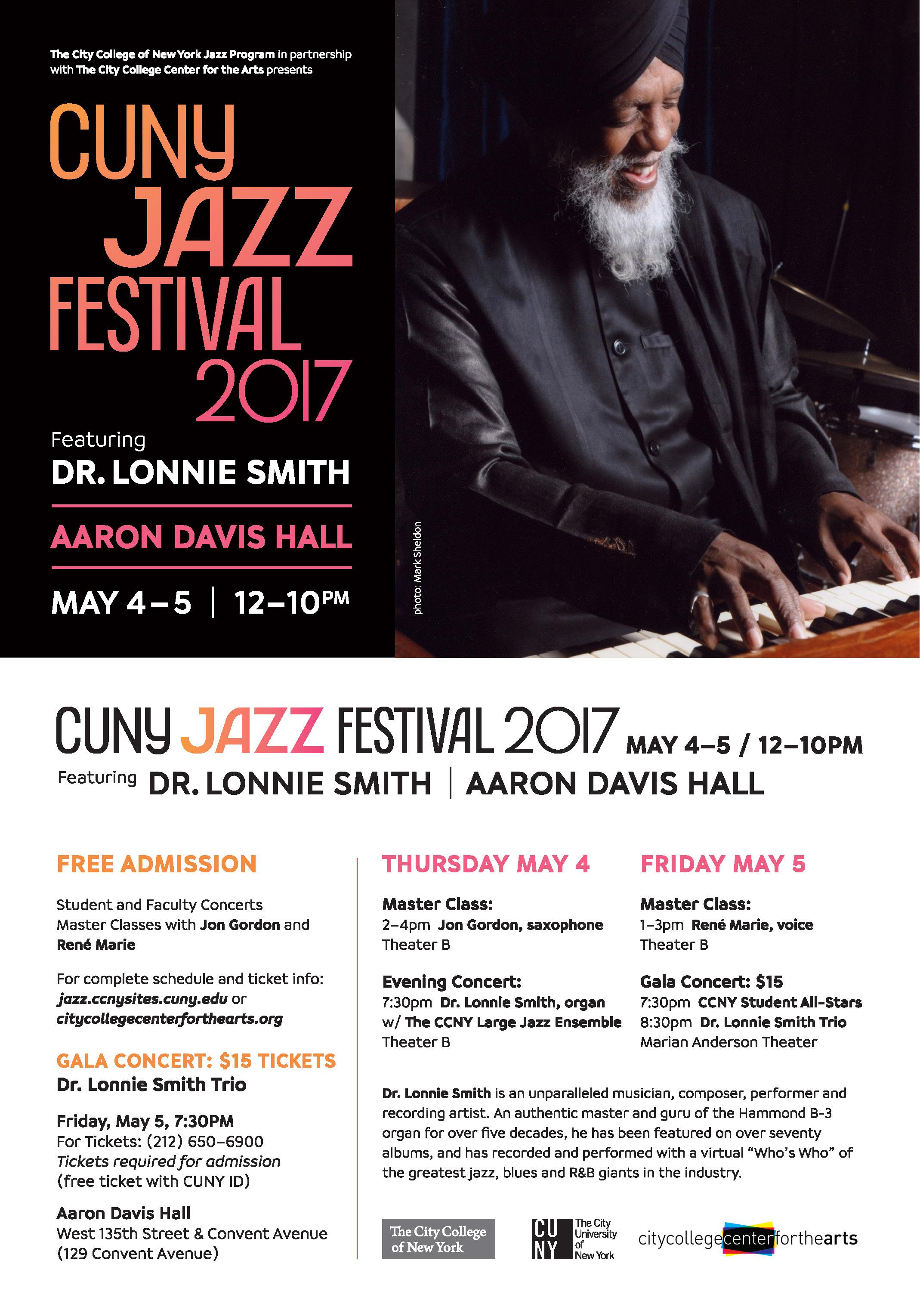 CUNY Jazz Festival 2017