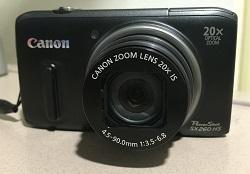 Canon Powershot SX260HS