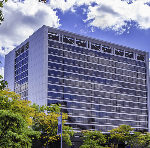 CCNY's Marshak science building