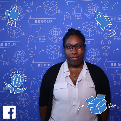 Chantelle Levy CCNY Facebook Ambassador