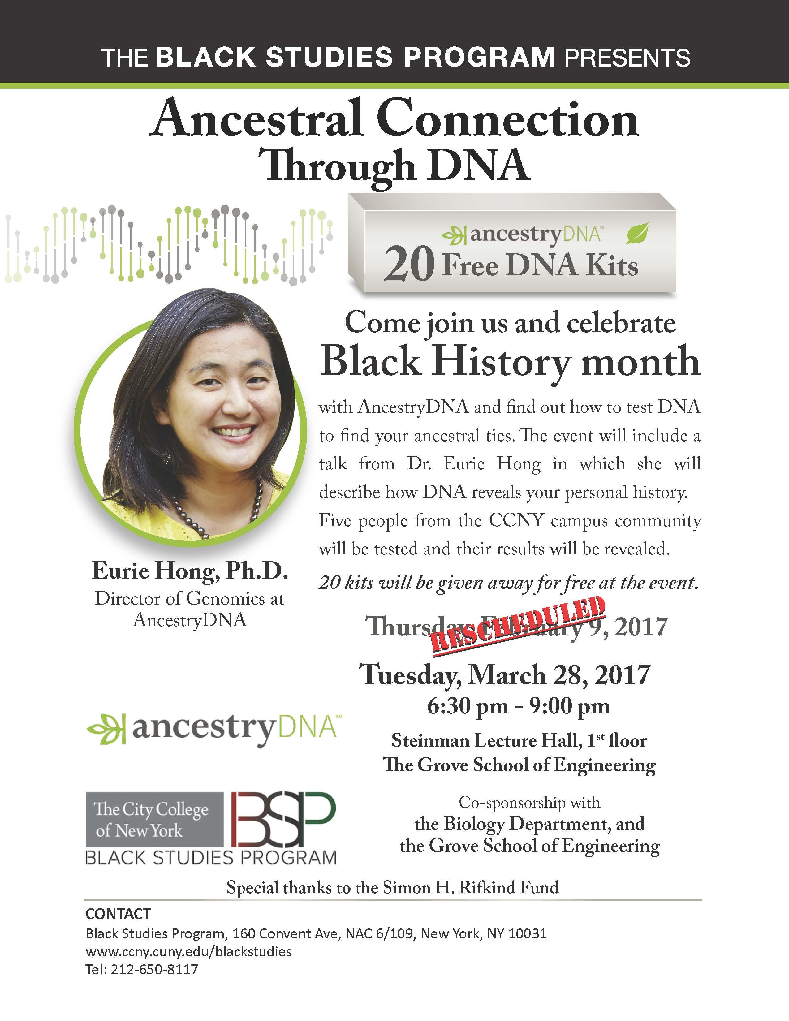 Ancestral Connection Through DNA