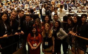 CCNY 2016 Model UN team