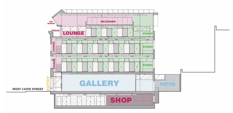 Firehouse floorplan