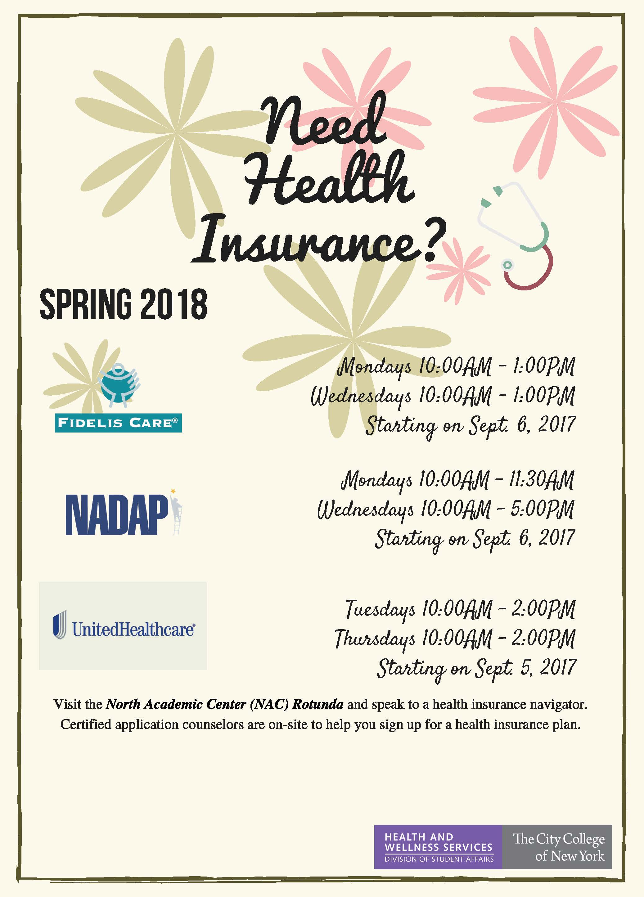 Health Insurance Spring 2018