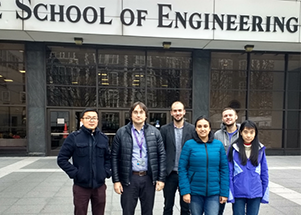 Alexander Khanikaev Photonics team in the Grove School of Engineering at CCNY