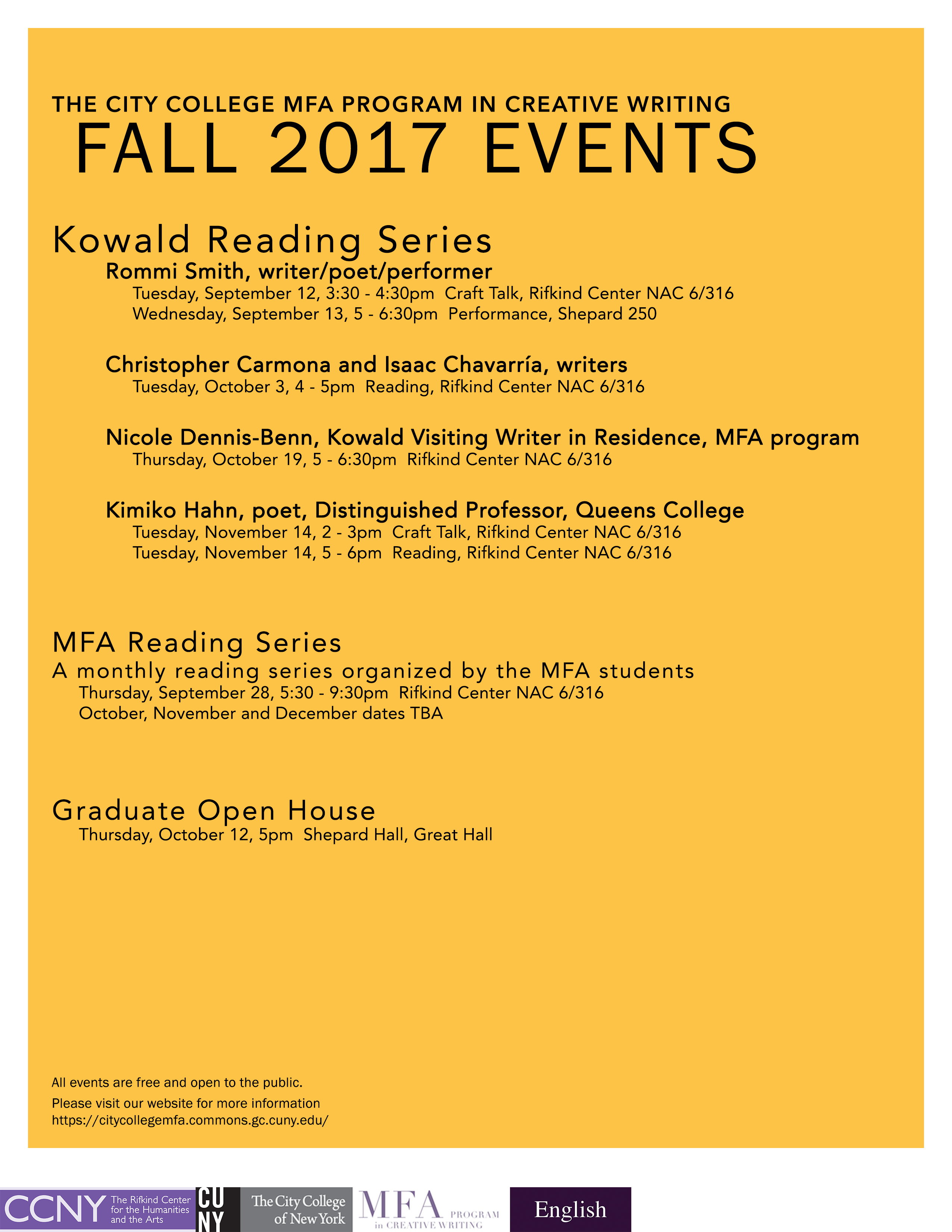 mfa creative writing program The iowa writers' workshop is a two-year residency program which and the awarding of a master of fine arts graduate program in creative writing 102.