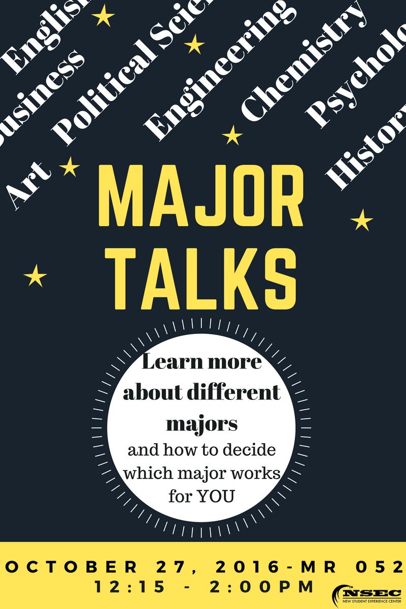 Major Talks