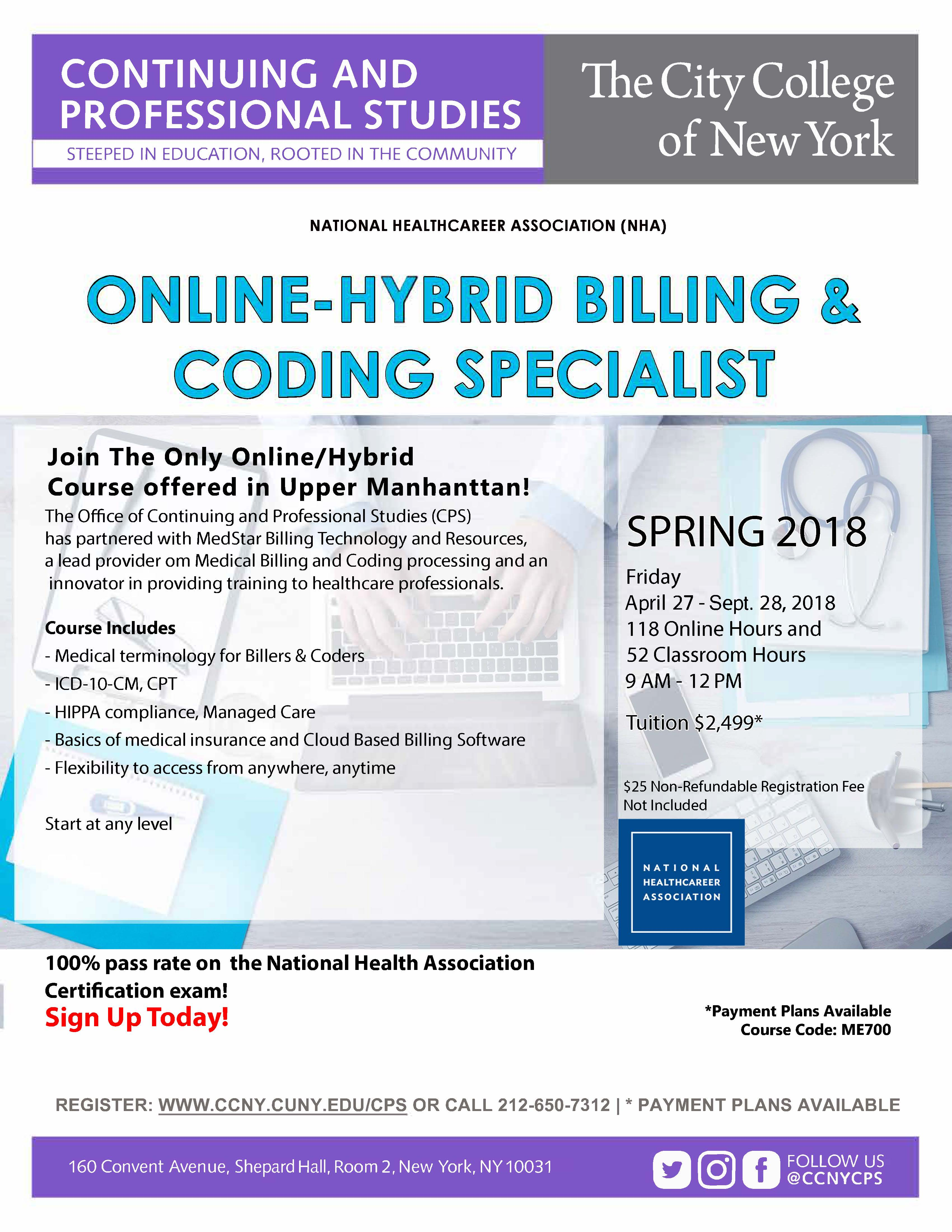 Onlinehybrid certified billing coding specialist the city onlinehybrid certified billing coding specialist 1betcityfo Choice Image