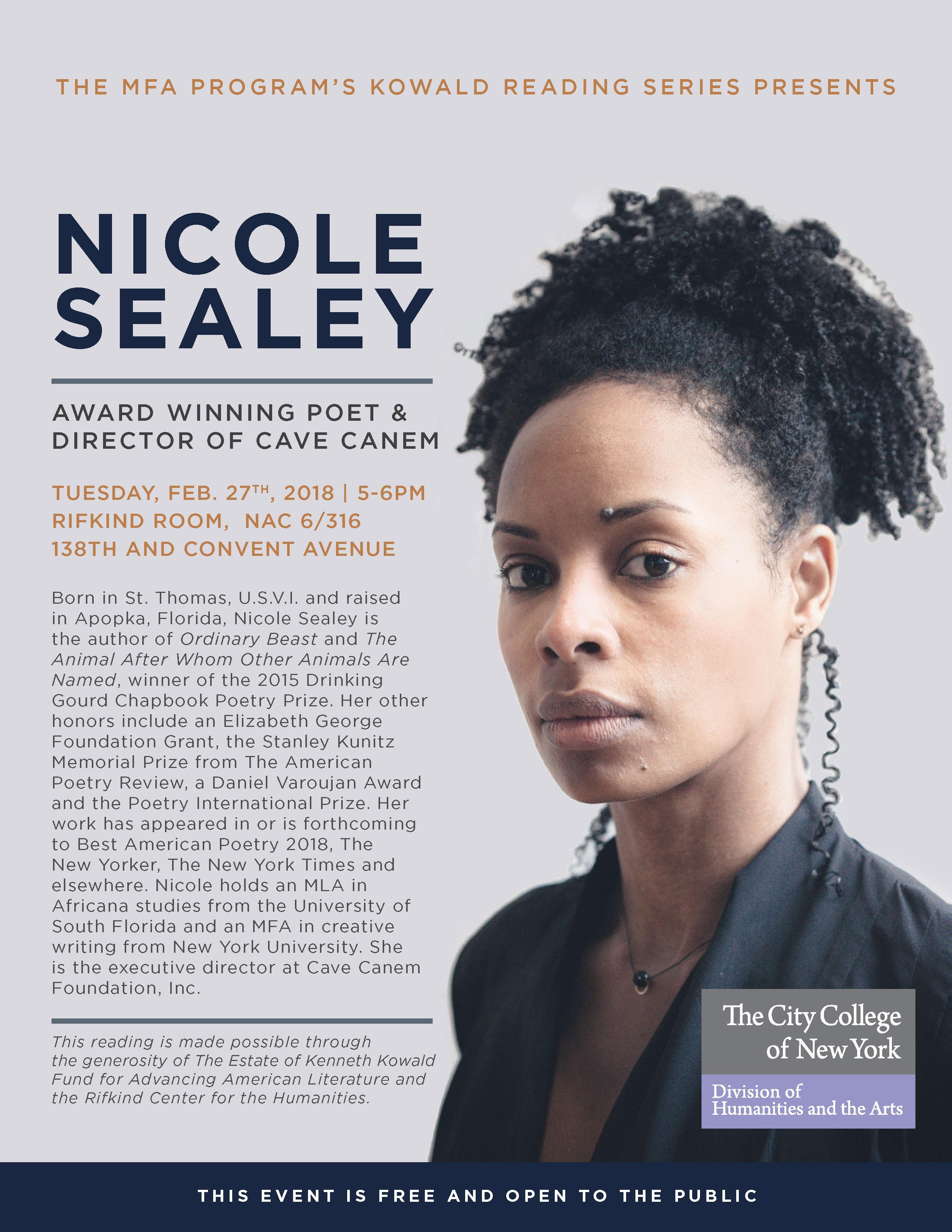 Nicole Sealey