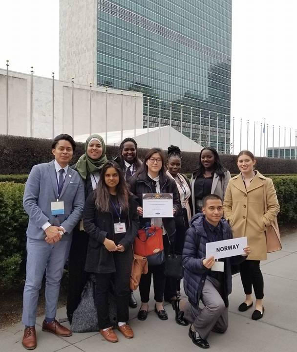 CCNY Model UN team_2018