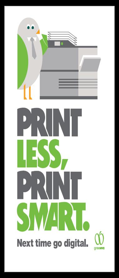 Print Less, Print Smart: Next time go digital