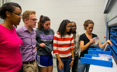 STEM students at CCNY