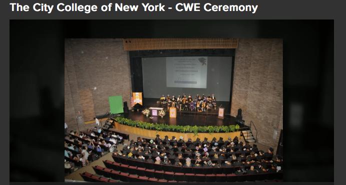CWE 2016 Graduation Divisional Ceremony
