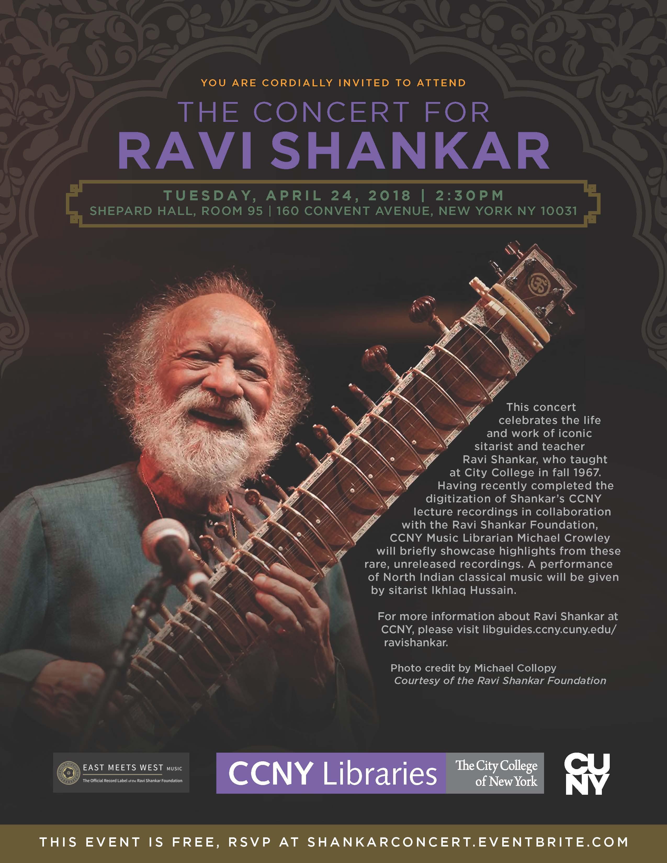 The Concert for Ravi Shankar