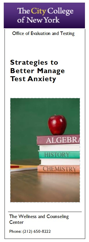Strategies To Better Manage Test Anxiety