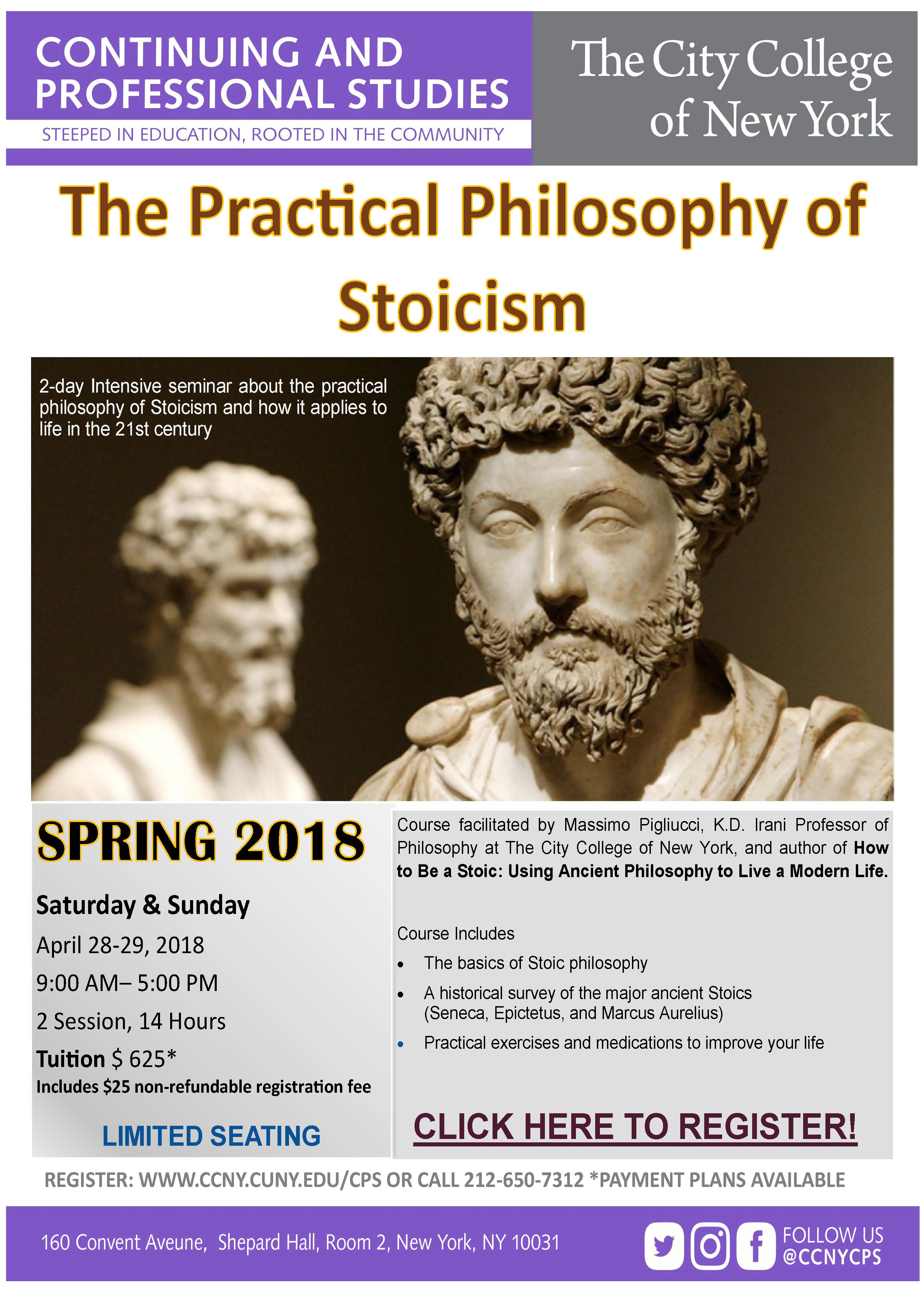 The Practical Philosophy of Stoicism
