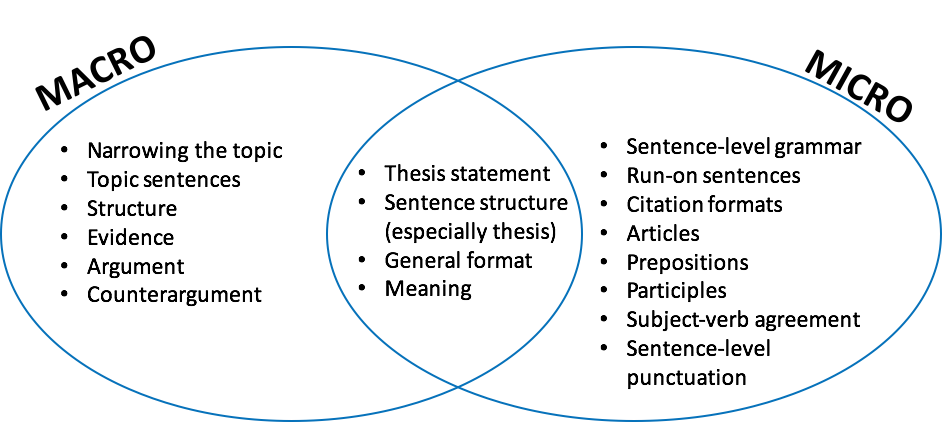 Venn Diagram Of Macro And Micro Issuesg The City College Of New