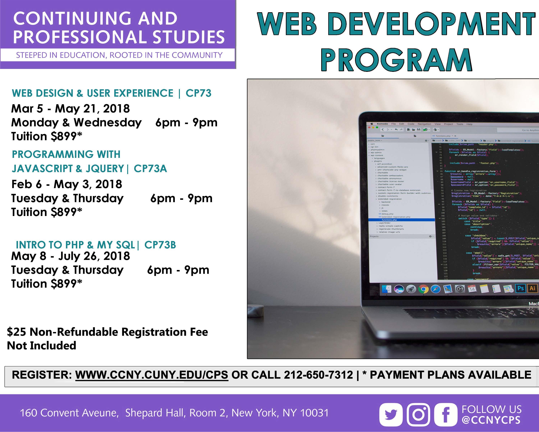 Web development certificate program the city college of new york web development certificate program web dev tv adg 1betcityfo Images