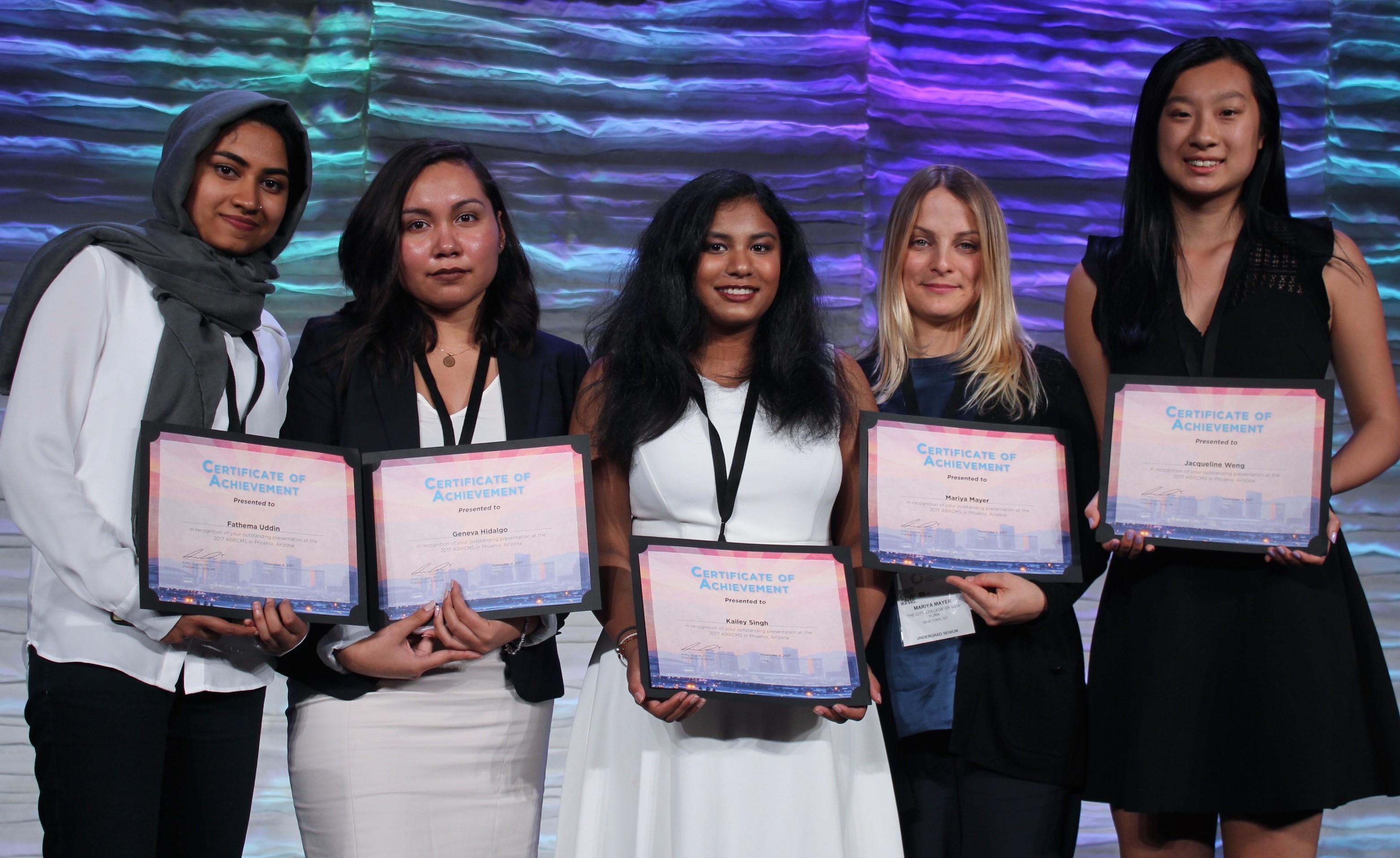 ABRCMS Winners_2017