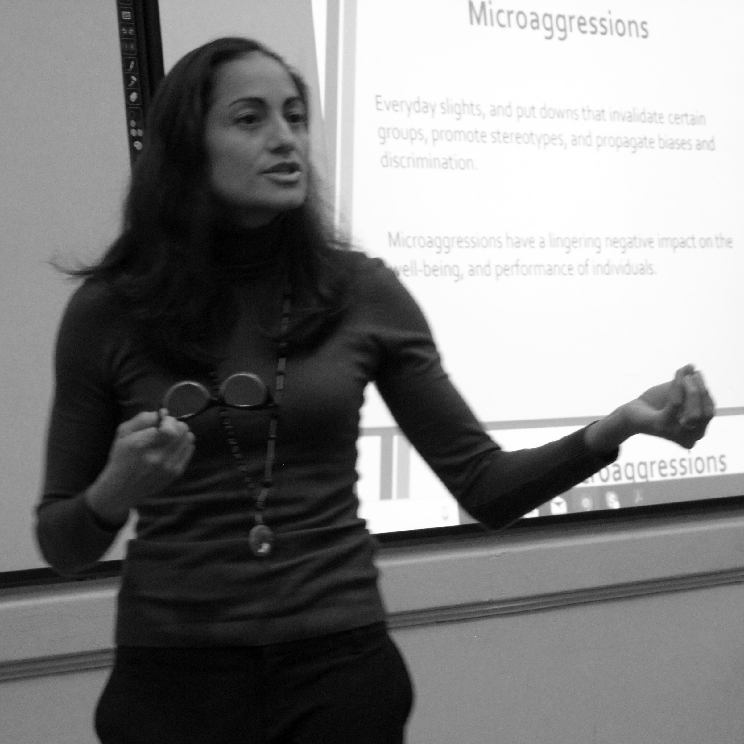 Adriana Espinosa Presenting