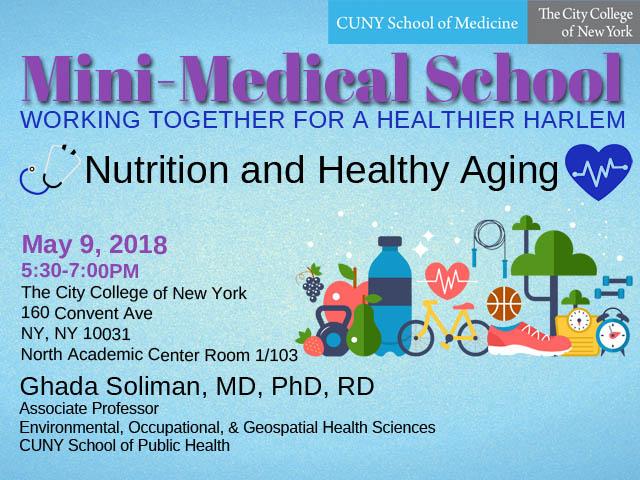 Mini-Medical School Healthy Aging