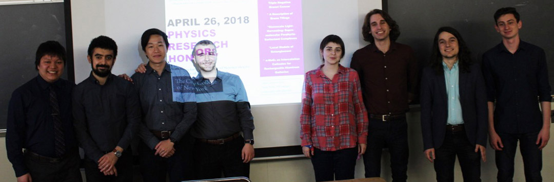 Research Honors Presenters 2018