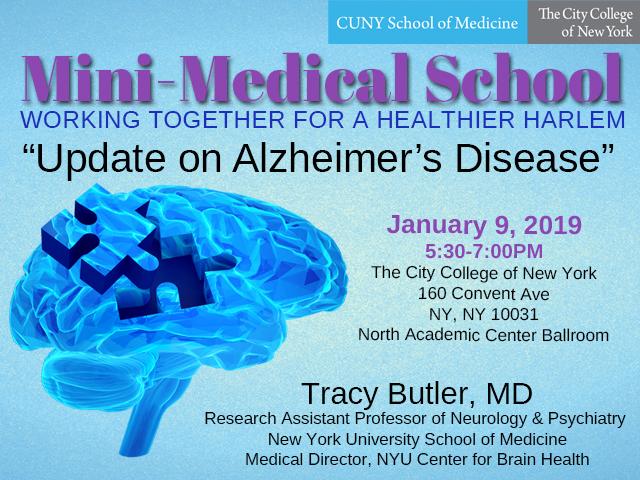 Mini-Medical School Alzheimer's Disease