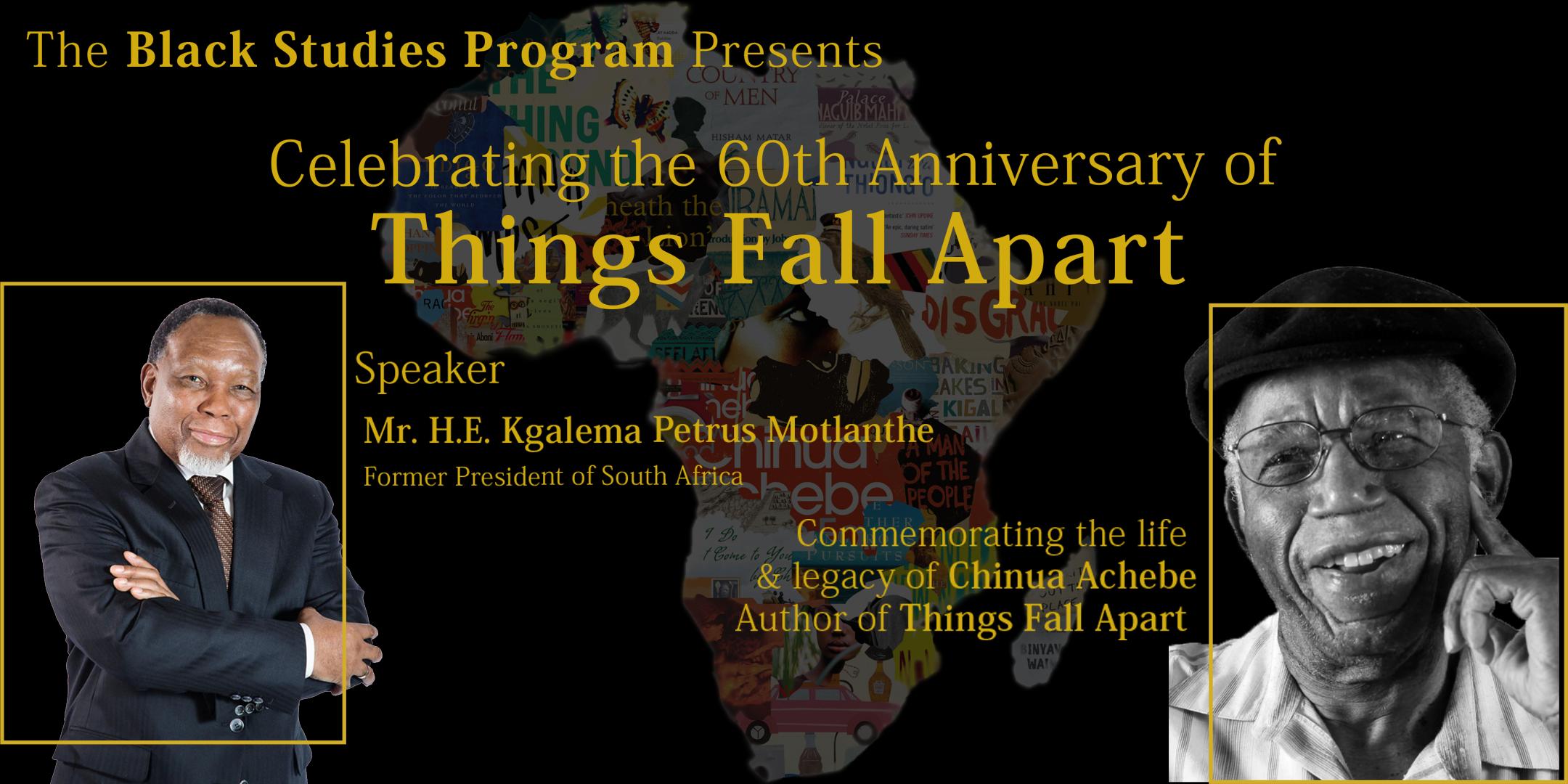 "60th Anniversary of ""Things Fall Apart"""