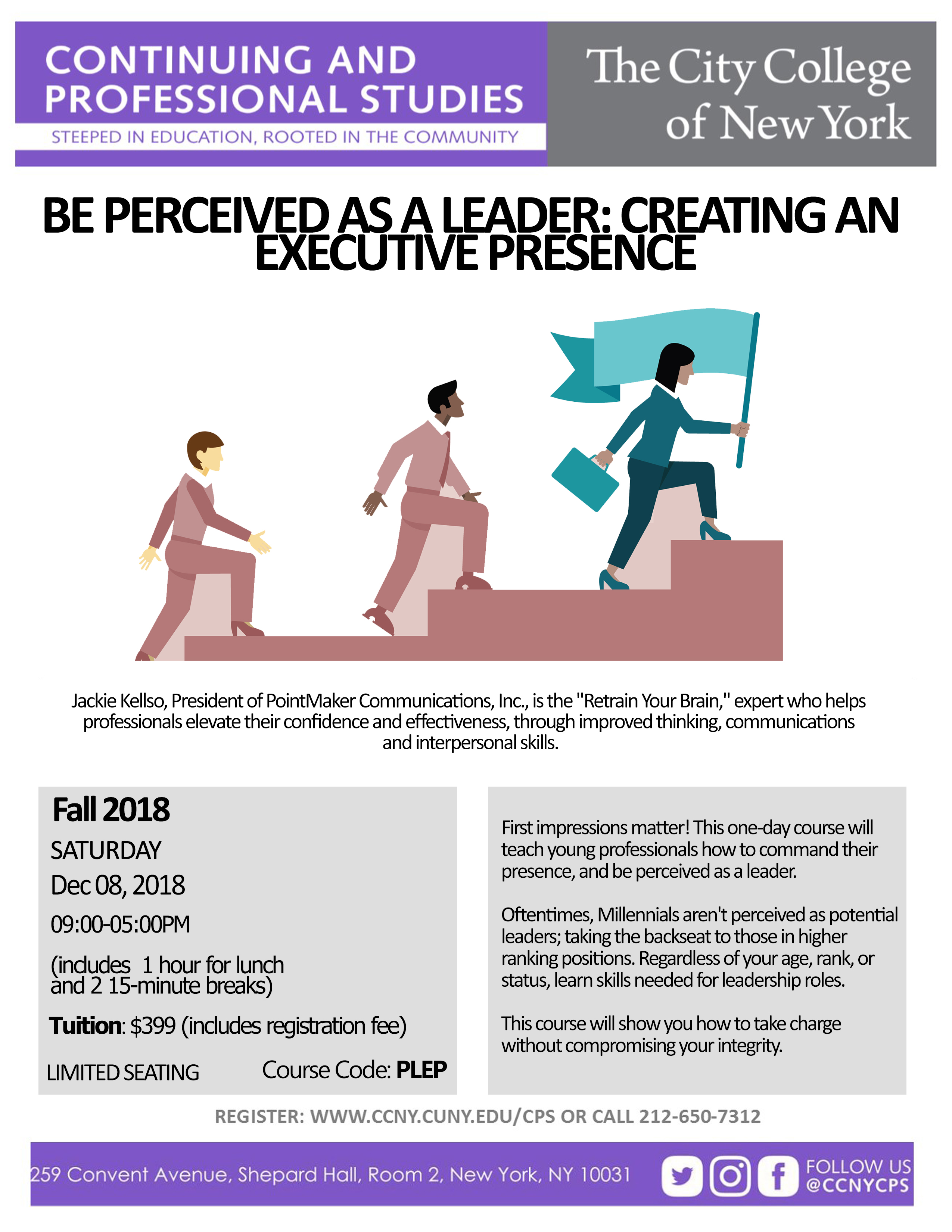 Be Perceived As A Leader; Creating An Executive Presence