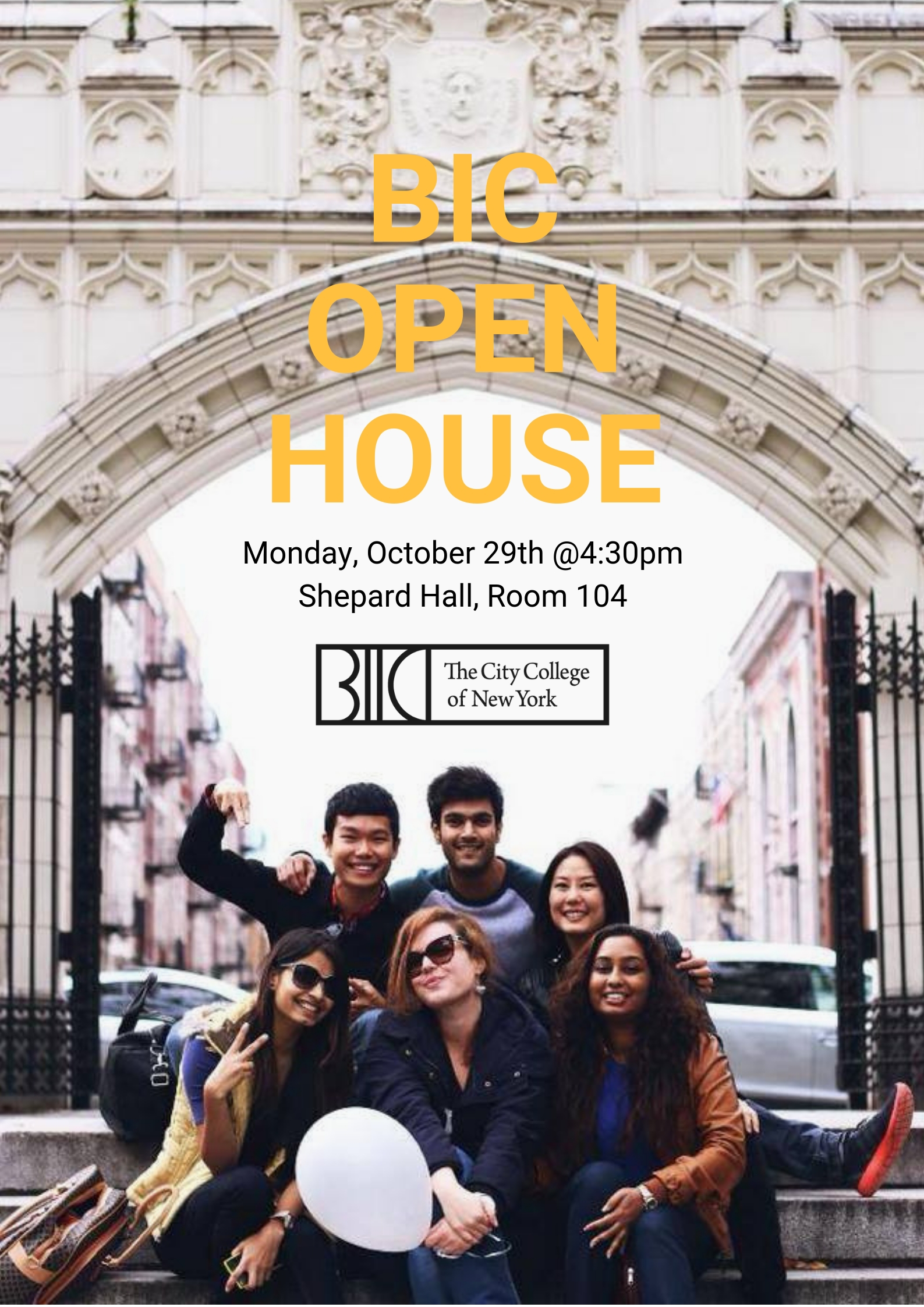 BIC Open House - Fall 2018
